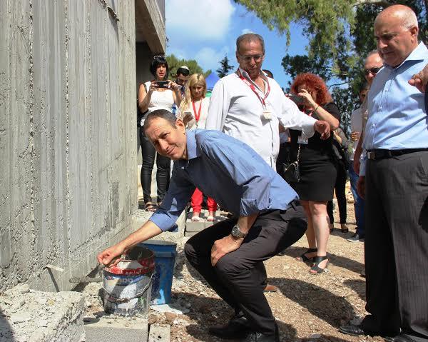 """הונחה אבן פינה לפרויקט המגורים """"דקלי פסגות"""" בעכו"""