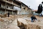 הקמת שכונה חשפה בית מרחץ עתיק